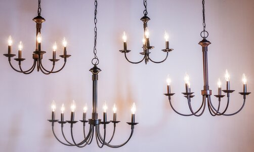 Laurel Foundry Modern Farmhouse Shaylee 5-Light Candle Style.
