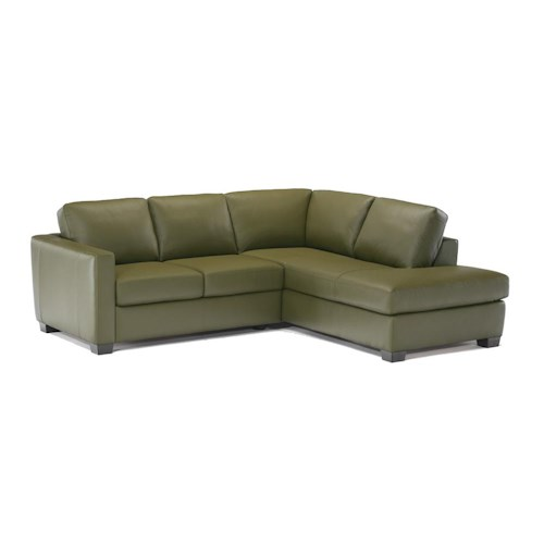 Italsofa I-161 Sectional with Chaise - Des Moines, Urbandale, West.