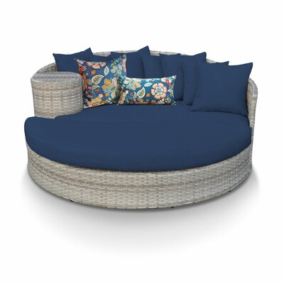 Sol 72 utomhus Falmouth Patio Daybed med kuddar Sol 72 Outdoor.