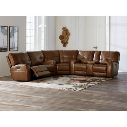 Conway Reclining Sectional Sofa från Basse