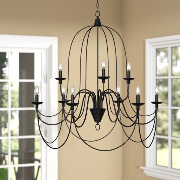 Three Posts ™ Watford 9 - Light Candle Style Classic / Traditional.