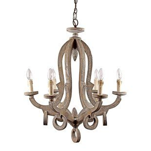 Laurel Foundry Modern Farmhouse Giverny 9-Light Candle-Style.