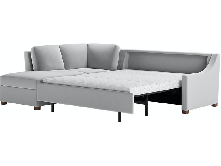 American Leather Living Room 2-Piece Sleeper Sectional - Queen.