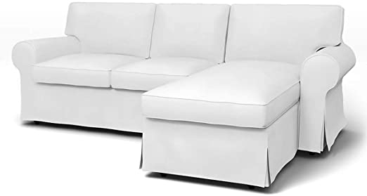 Amazon.com: mastersofcovers Ektorp Loveseat (2-sits) med Chaise.