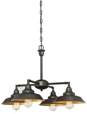 Trent Austin Design Alayna 4 - Light Shaded Classic / Traditional.
