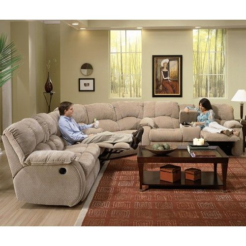 Southern Motion Continental Reclining Sectional - Royal Furniture.