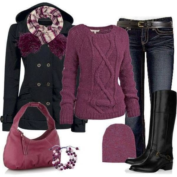 10 Cold Weather Style Outfit-samlingar |  Mode, vinter.