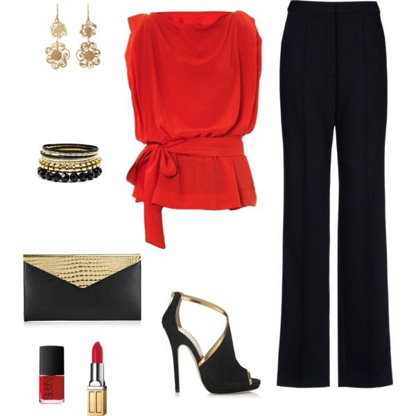 """Christmas office party outfit """"