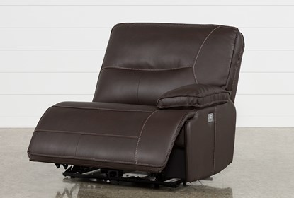 Marcus Chocolate Right Facing Power Recliner W / Power Headrest And.