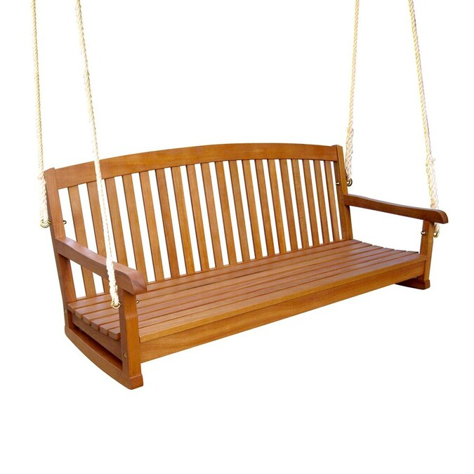 International Caravan Royal Tahiti 3-Seater Porch Swing på Lowes.c