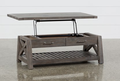 Jaxon Grey Lift-Top Coffee Table |  Living Spac
