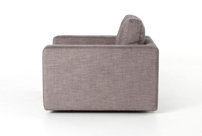 Harbour Grey Swivel Accent Chair |  Living Spac