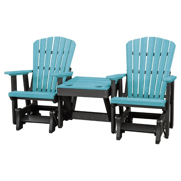 Red Barrel Studio Gina Center Table Double Glider Bench & Reviews.