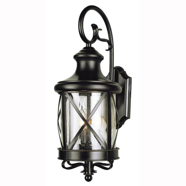 Bel Air Lighting Carriage House 2-Light Outdoor Oiled Bronze Coach.