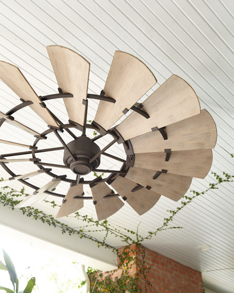"""Windmill Bronze 60 """"Outdoor Ceiling F"""