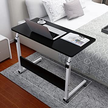 Amazon.com: Overbed Table Laptop Cart, Portable Household.