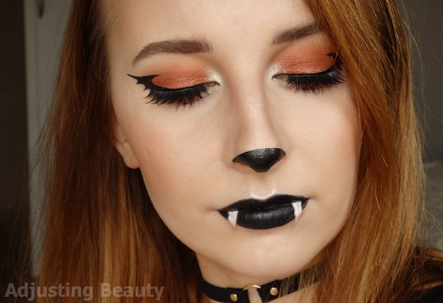 Glamorös Halloween Bat Makeup - fashiontur.com 2020.