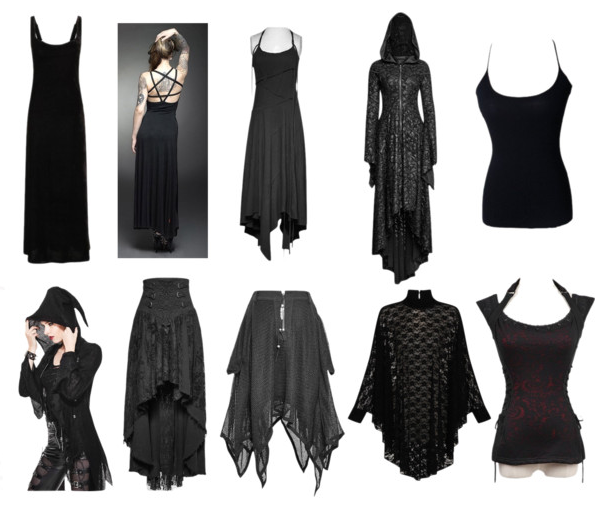 The Gothic Shop Blog: Witchy Goth - Summertime Capsule Collecti