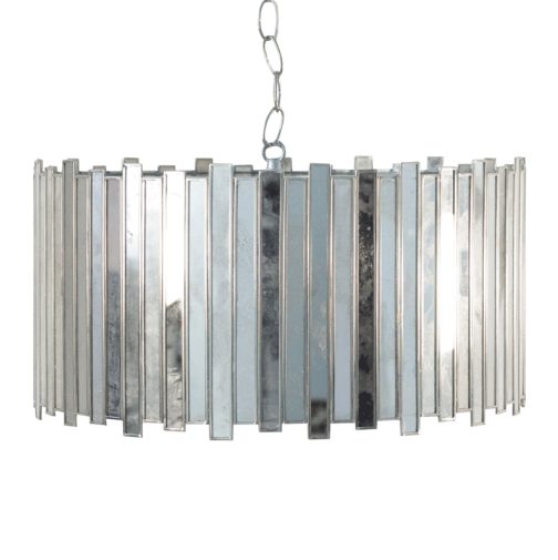 Worlds Away Connie Mirrored Chandelier - Mintwood Ho