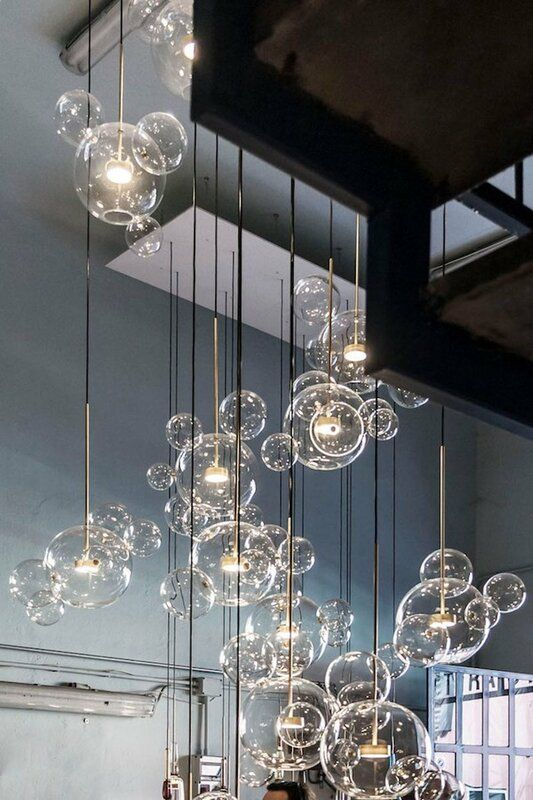 Brayden Studio Viburnum Stems and Balls 7-Light LED Globe.