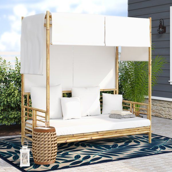 Aubrie Patio Daybeds With Kuddar