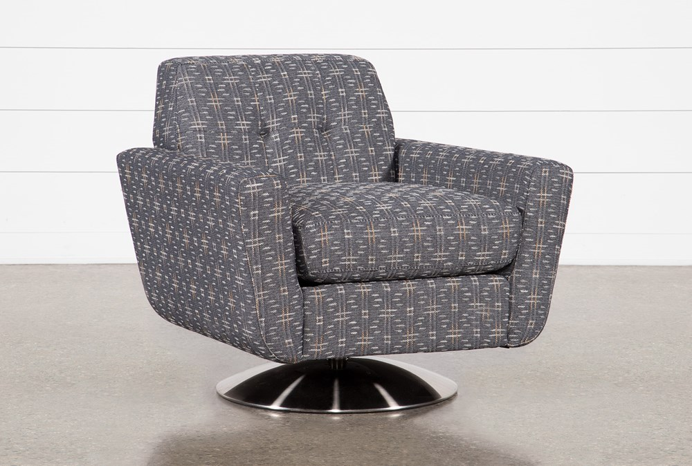 Chill Swivel Chairs With Metal Base