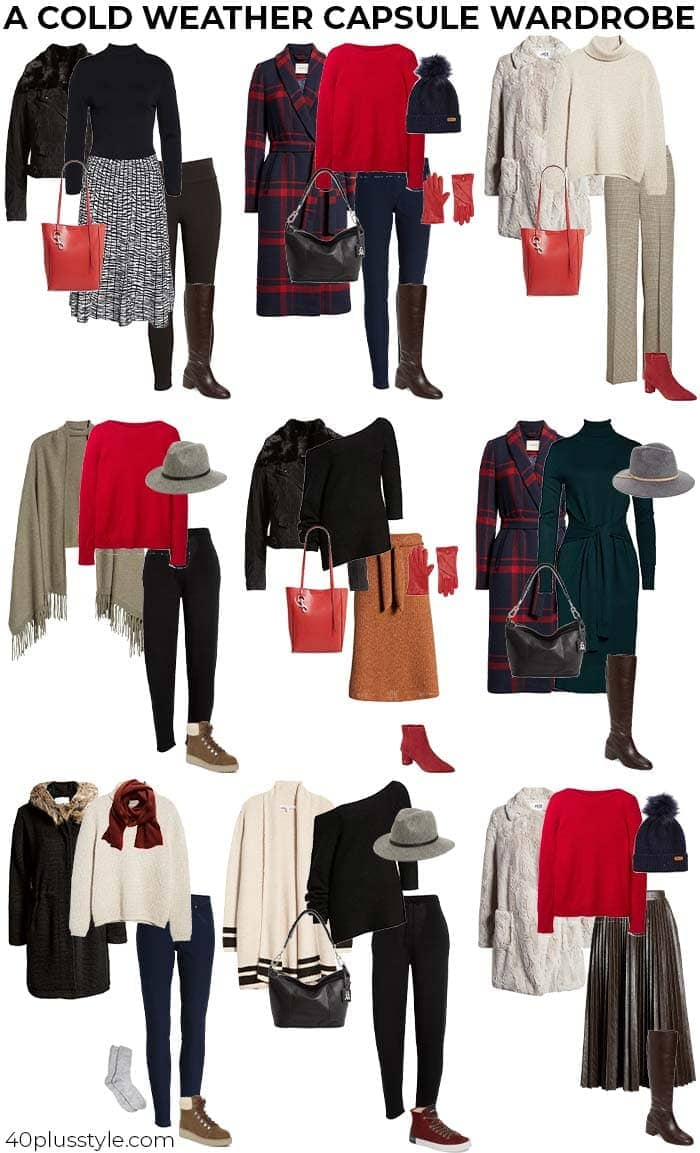 Cold Weather Style Outfit-samlingar