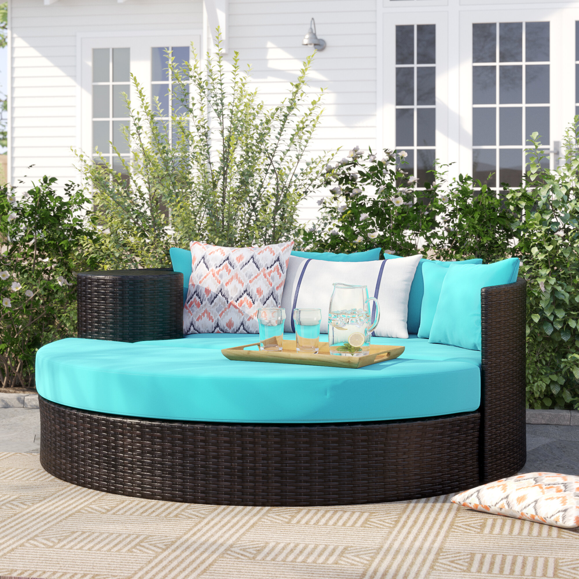 Freeport Patio Daybeds With Kudde