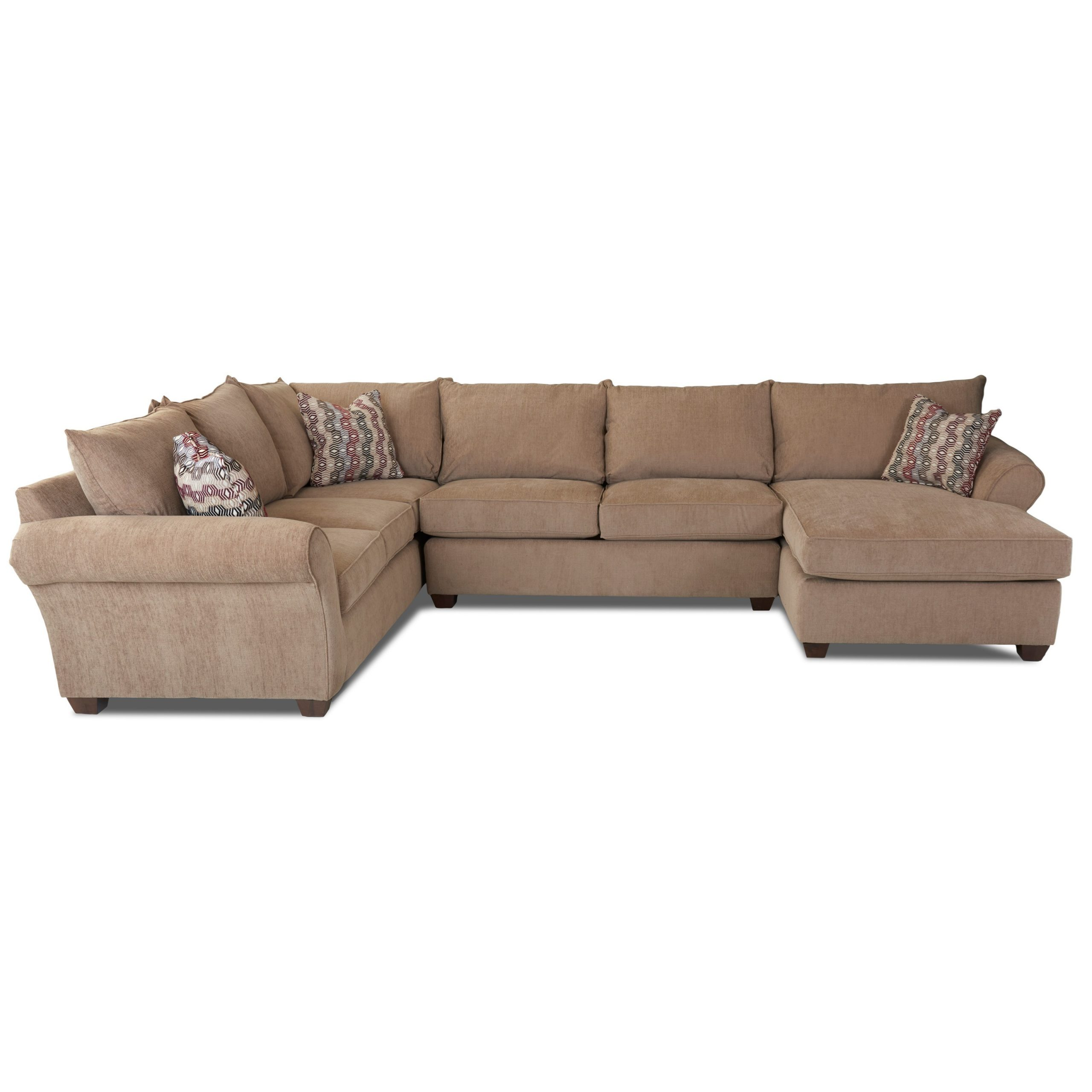 Johnny Janosik Sectional Soffor