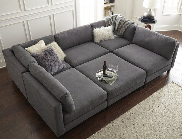 Media Room Sectional Soffor