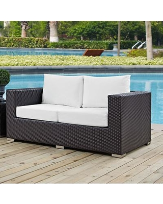 Provencher Patio Loveseats With Kuddar