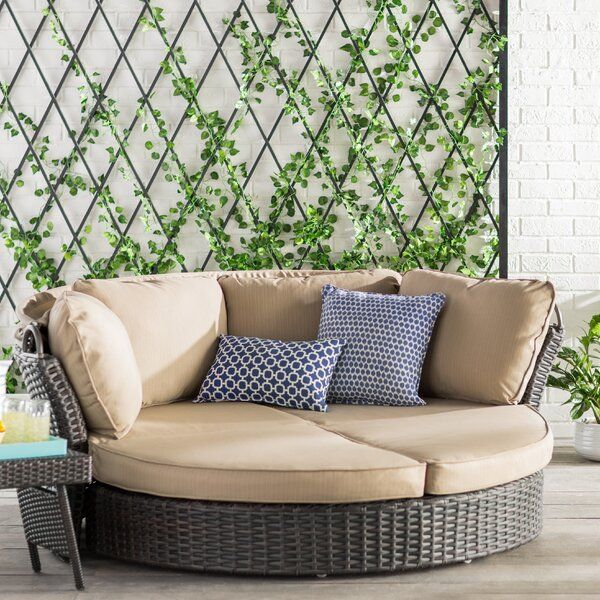 Tiana Patio Daybeds With Kuddar
